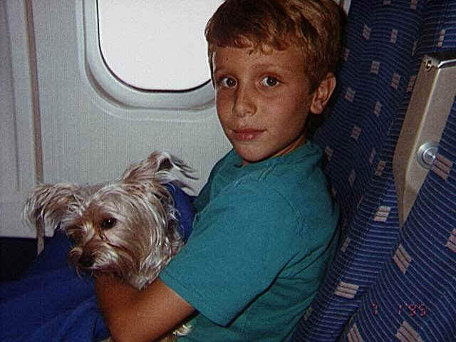 80499_13.jpg - With Robbie on the plane to Canada